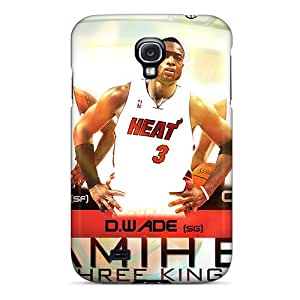 Anti-scratch And Shatterproof Three Kings Phone Case For Galaxy S4/ High Quality Tpu Case