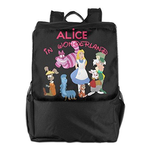 [CYANY A In Wonderland Fantasy Film Character Shoulder Bags Travel Black Backpack For Men & Women Teens] (Traveling Circus Costume)