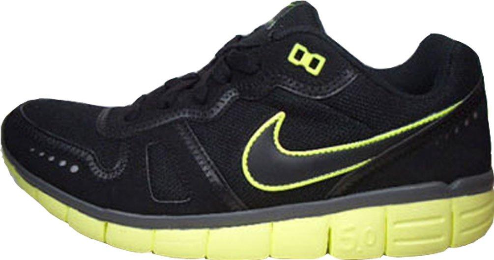 new styles ec909 5668c Nike Free Waffle AC 443913-007 Schwarz-Gelb 43: Amazon.de: Sport & Freizeit