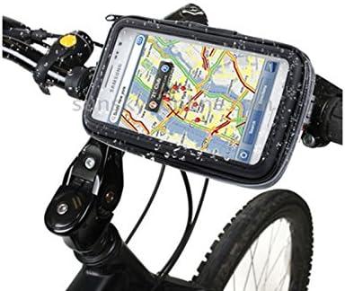 pwshop24 bicicleta lenkradhalterung Bike Funda con carcasa ...