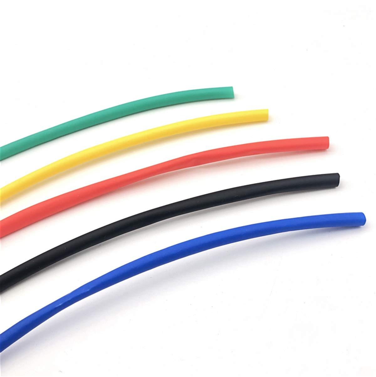 1 Meter Heat Shrinkable Shrink Heatshrink Tubing Tube Sleeving Wrap Wire Sell DIY Connector