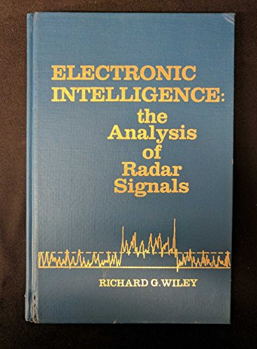 Electronic Intelligence: Analysis of Radar