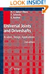 Universal Joints and Driveshafts: Ana...