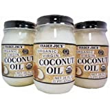 Trader Joe's Coconut Oil (3 Jars)