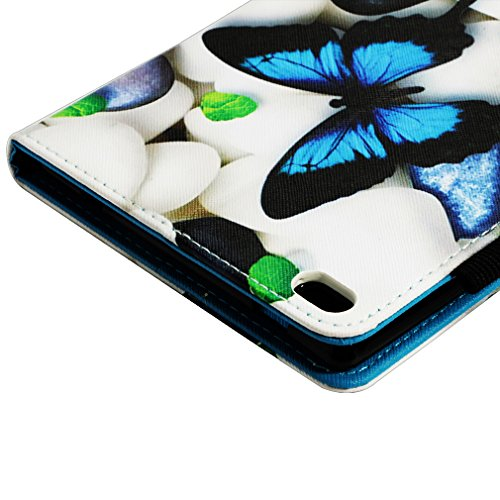 Foldable Holster PU Colorful Leather LMFULM® Tab4 Inch Ultrathin Lenovo Paper TB and of Cover Plus Flower Card for Function Closure Leather 1 Stent 10 Slot Bookstyle Case Magnetic Color 1 Pattern X704F 10 qPaHPAn