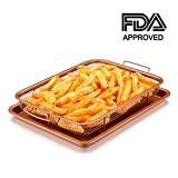 Copper Crisper Tray Oven Air Fryer Pan