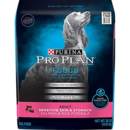 Purina Pro Plan Sensitive Skin & Stomach, High...
