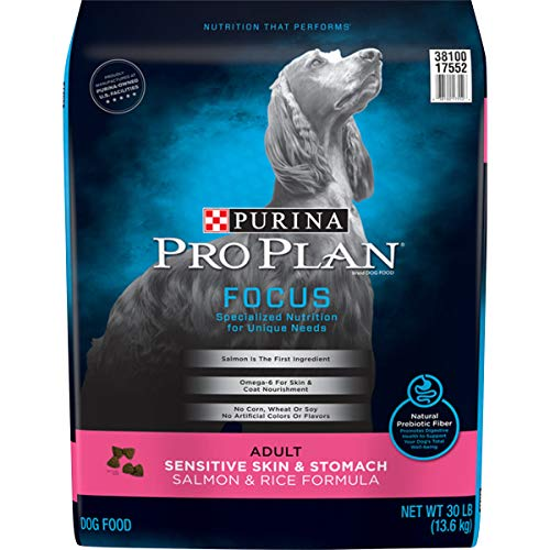 Purina Pro Plan Sensitive Skin & Stomach, High Protein Adult Dry Dog Food & Wet Dog Food (Packaging May Vary)