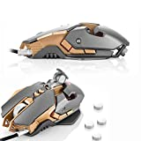Computer Gaming Mouse Mice Combatwing CW30 USB Wired 3200DPI Weight Tuning