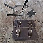 Zeus-Brown-Side-Bag-Holder-XL-up-to-2017-by-Orletanos-Compatible-with-Harley-Davidson-Softail-Fatboy-Heritage-Leather-Brown-Saddle-Bag-Side-Case