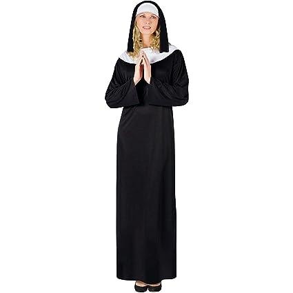Classic Nun Costume Adult  sc 1 st  Amazon.com & Amazon.com: Classic Nun Costume Adult: Toys u0026 Games