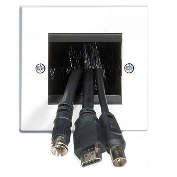 Kabel Eintritt Austritt Pinsel Unterputzdose Für: Amazon.de: Elektronik