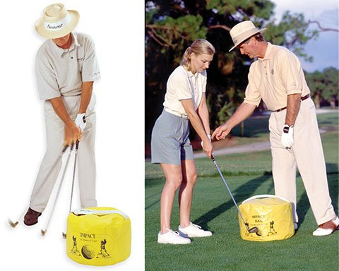 Dr. Gary Wiren Impact Bag Golf Impact Training Aid ()