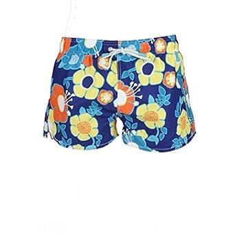 76087fe279 Oiler & Boiler Tuckernuck Shortie Surf Floral Men's Swim Shorts, Blue/Multi  ...