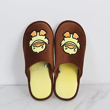 Zapatillas térmicas Pantuflas,Zapatillas algodón Patito Dibujos ...