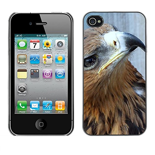 Premio Sottile Slim Cassa Custodia Case Cover Shell // F00028772 Sore aigle // Apple iPhone 4 4S 4G
