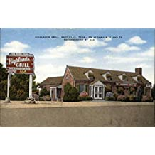 Highland Grill Knoxville, Tennessee Original Vintage Postcard