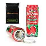 Arizona Watermelon Diversion Safe Stash Can w HumanFriendly Smell-Proof Bag