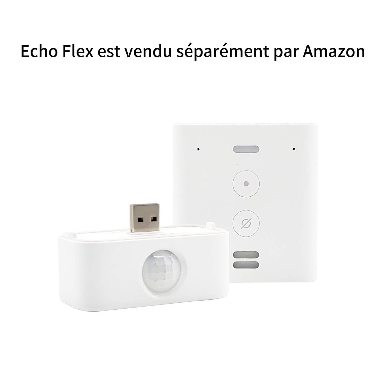 Tout nouveau d/étecteur de mouvement Third Reality certifi/é con/çu pour Echo Flex /«/Made for //»