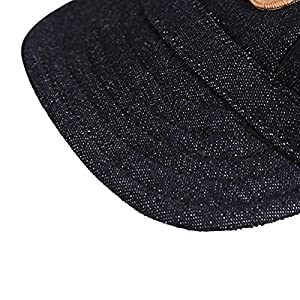 Happy Hours - Fashion Small Pet Dog Cat Baseball Visor Sports Hat Cap Puppy Summer Baseball Outdoor Ear Holes Sunbonnet Outfit Elastic Leather Neck Strap 6 Colors 2 Sizes Available (Black, Size M)