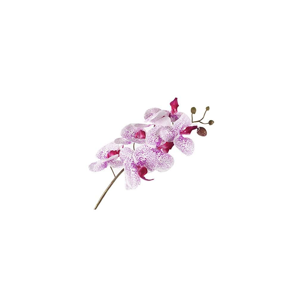 JAROWN-4pcs-30-Phalaenopsis-Orchid-Artificial-Branches-Real-Touch-Latex-Flowers-for-Home-Office-Wedding-Decoration