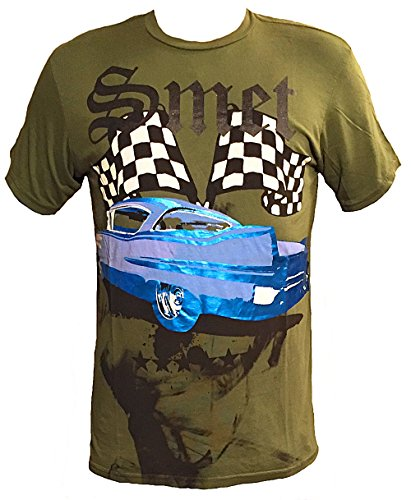 (Smet by Christian Audigier Cadillac Mens T shirt (Medium,)