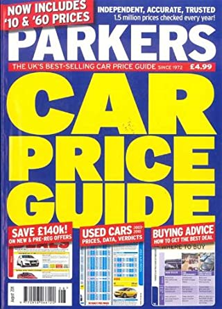 parkers car price guide amazon com magazines rh amazon com parker's guide to used car values parker's guide to used car prices