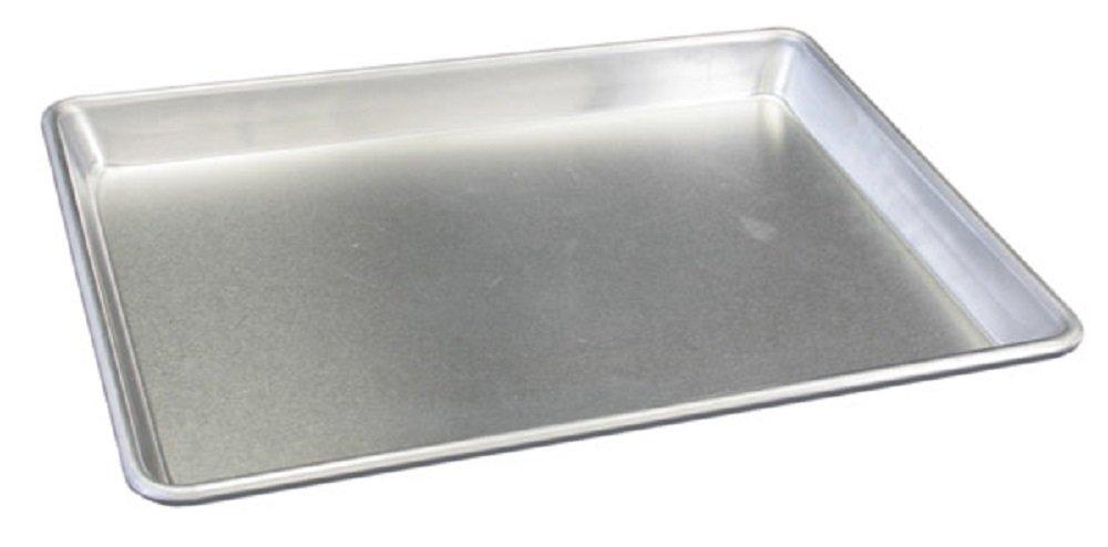 Thunder Group ALSP1013, 10x13-Inch Quarter Size Aluminum Sheet Pan, Commercial Baking Pan, Profesional Bake Pans, 12-Piece Pack