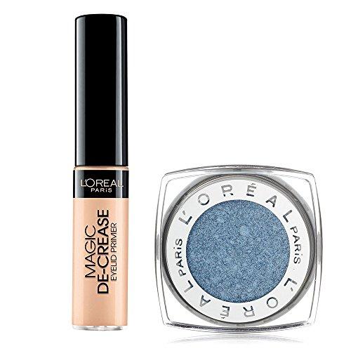 Decrease Eye Shadow Base - L'Oréal Magic De-Crease Eyelid Primer and L'Oréal Infallible Eyeshadow Infinite Sky Bundle