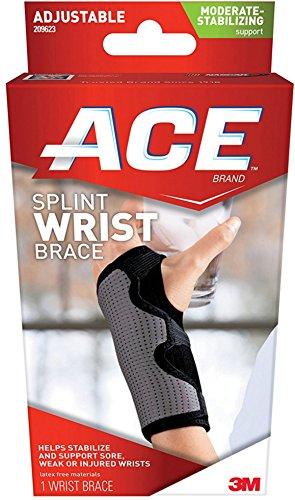 ACE Comfortable Adjustable Neoprene Wrist Support, Mild 1 ea (Pack of 6)