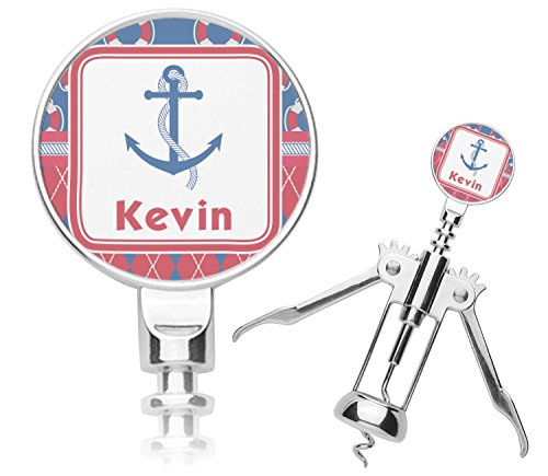 Buoy & Argyle Print Corkscrew (Personalized) by RNK Shops