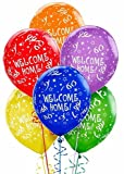 Welcome Home Printed Latex Balloons -6ct, Health Care Stuffs