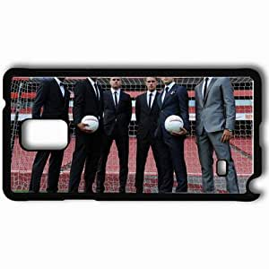 Personalized Samsung Note 4 Cell phone Case/Cover Skin Arsenal football club arsenal football club the gunners gunners Black