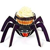 Meri Meri Halloween Cupcake Holder with Liners, Makes 24