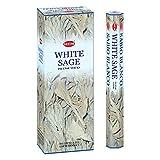 Hem White Sage Tubes Incense, 20g, Box of Six