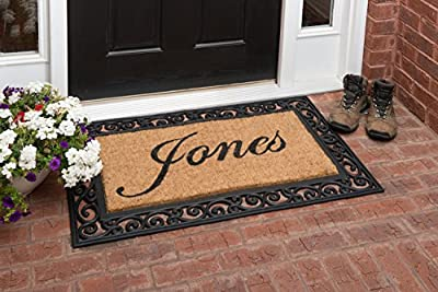 YourOwn Custom Name Welcome Mat