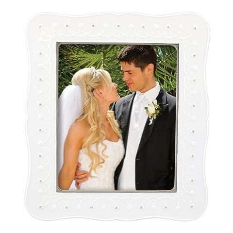 Lenox Bliss Luxury Frame, 8 by 10-Inch - Lenox Crystal