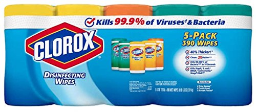Clorox Disinfecting Wipes 78 Count, 5 Pack by Clorox Disinfecting Wipes