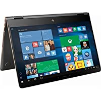 HP Spectre x360 2-in-1 15.6 4K Ultra HD TouchScreen Laptop, Latest Intel Ice Lake Quad Core i7-8550U up to 4.0 GHz, 16GB RAM, 512GB SSD, Dedicated NVIDIA MX150, Backlit keyboard, Thunderbolt, Win 10