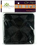 Op Art Rubbing Plates-Set Of Six
