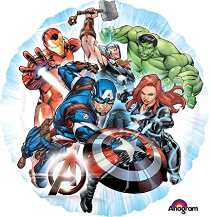 Amscan /& MSS with 17 inch Balloon Plus Party Planning Checklist by Mikes Super Store Marvel Epic Avengers Party Supplies Bundle Pack for 16