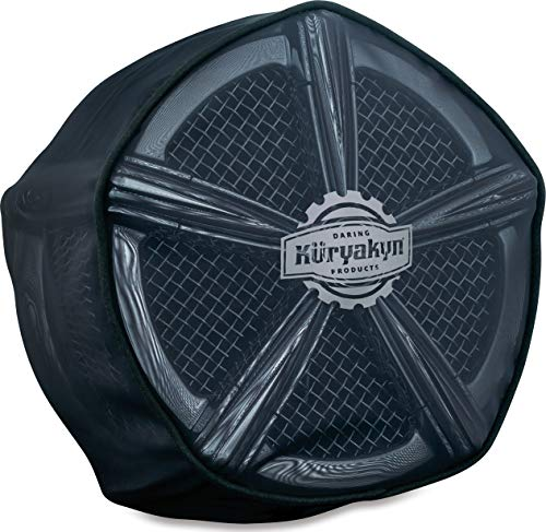 Kuryakyn 9559 Motorcycle Hypercharger Air Cleaner/Filter Component: Pre-Filter/Rain Sock for Mach 2 & Alley Cat Hypercharger Air Cleaners, Black
