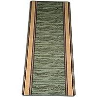 Washable Non-Skid Carpet Rug Runner - Boxer Green (5)