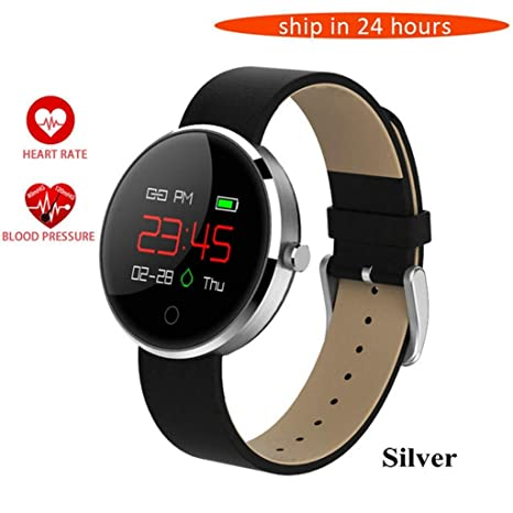 HKPLDE Smartwatch para Hombres Mujer, Fitness Tracker Bluetooth ...
