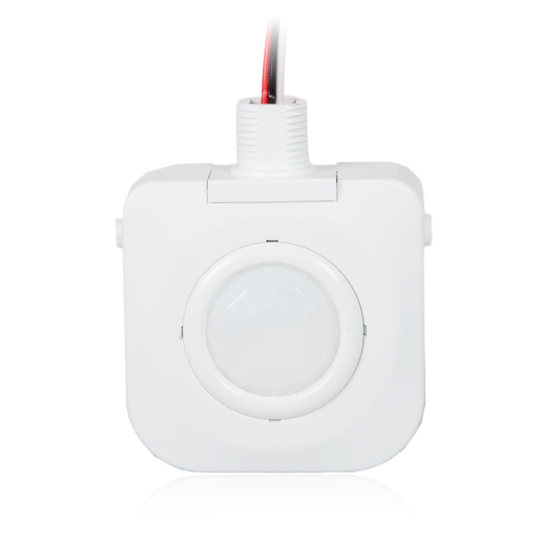 Maxxima High Bay Fixture Mount 360 Degree PIR Occupancy Sensor, Hard-Wired Motion Sensor