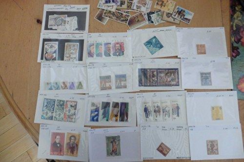 H23 Malta stamps 1984 #643-46 1922 #107 1910 #29 1986 #682-685 1975 #491-494 +