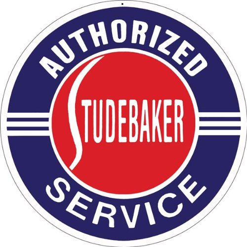 Victory Vintage Signs Authorized Studebaker Service Station Gas and Motor Reproduction Sign