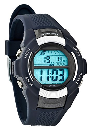 Navy Blue Digital Sport Watch - 2