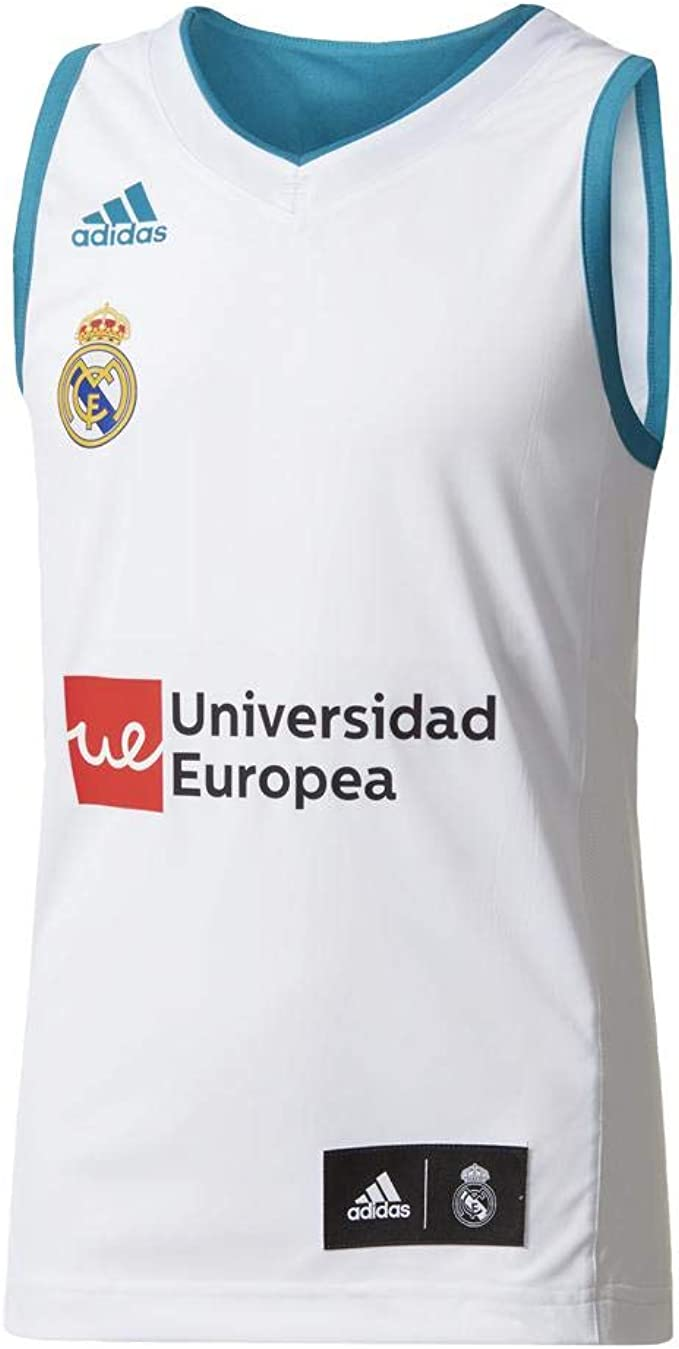 adidas RM Y Camiseta Línea Real Madrid FC, Niños: Amazon.es ...