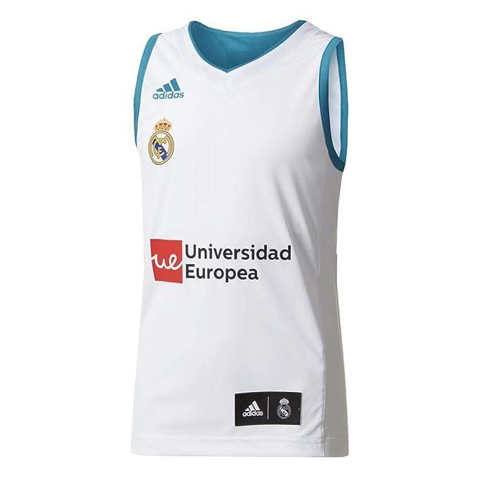 adidas RM Y Camiseta Línea Real Madrid FC, Niños: Amazon.es: Ropa ...